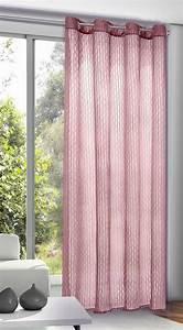 Rideau Blanc Cassé : rideau uni en voile froiss framboise blanc cass menthe blanc anthracite ~ Teatrodelosmanantiales.com Idées de Décoration