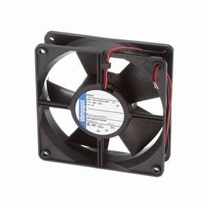 Ebm-papst - 4314 - Dc Fan  24v  120x120x32mm  100 1cfm  5w  45dba  2800rpm  Wire Leads