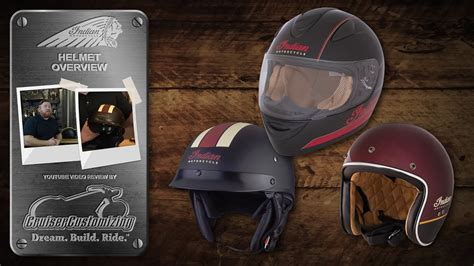 Indian Motorcycles Helmet Overview