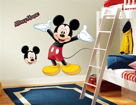 Wandtattoo Kinderzimmer Mickey Mouse by Roommates Wandsticker Mickey Mouse Mickey Mouse