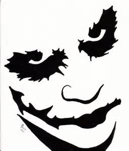 Harley Quinn Pumpkin Carving Template by Harley Stencil Cliparts Co