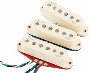 Fender N3 Noiseless Wiring Diagram