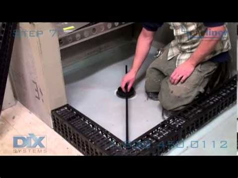 How To Install Shower Liner - how to install shower liner with pitch and oneliner