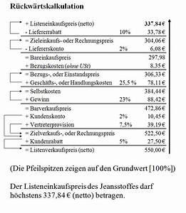 Nettomarge Berechnen : kurtzkurse bwl kaufm nnisches rechnen die ~ Themetempest.com Abrechnung