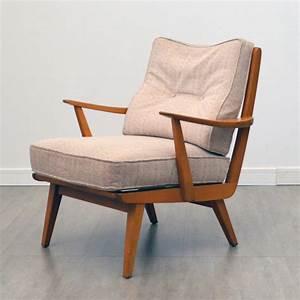 Fauteuil Années 50 : fauteuil scandinave ann es 50 60 ~ Dallasstarsshop.com Idées de Décoration