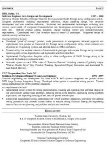 resume templates for civil engineer software engineer resume exle technical resume writing exles sles