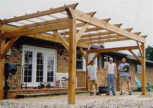 Timber Frame Pergolas, Timber Frame Porches & Pavilions