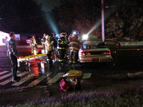 No Serious Injuries In Two-car Crash