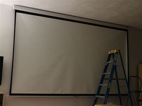 Ceiling Mount Projector Screen Review Home Co