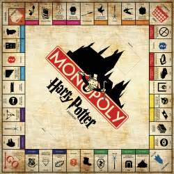 Harry Potter Monopoly Game Board