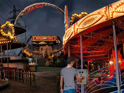 Carnival Fire Ring Worker County Tennessee Dangerous