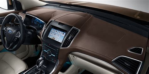 ford  ford edge sport interior features  ford
