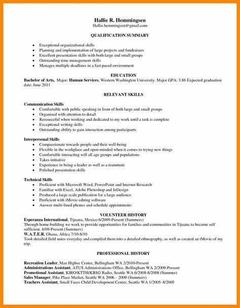 15 fresh skills based resume template resume sle