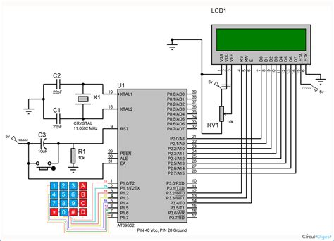 keypad interfacing   microcontroller ats