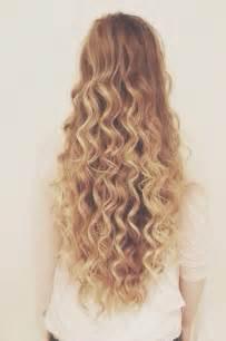 Cute Long Curly Hair Tumblr