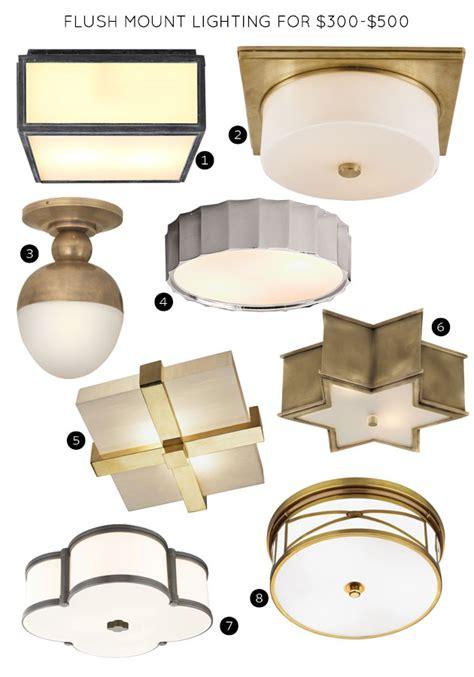 the 30 best flush mount lighting fixtures it lovely