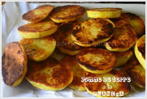 cuisine plancha recette recette plancha pomme de terre à la plancha kaderick en