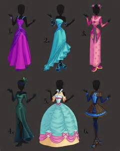 Adoptables deviantART Dress Design