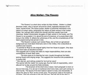 alice walker writing style