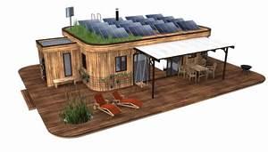 Haus Aus Holz : bau innovationen mobiles und energieautarkes haus aus holz ~ Buech-reservation.com Haus und Dekorationen