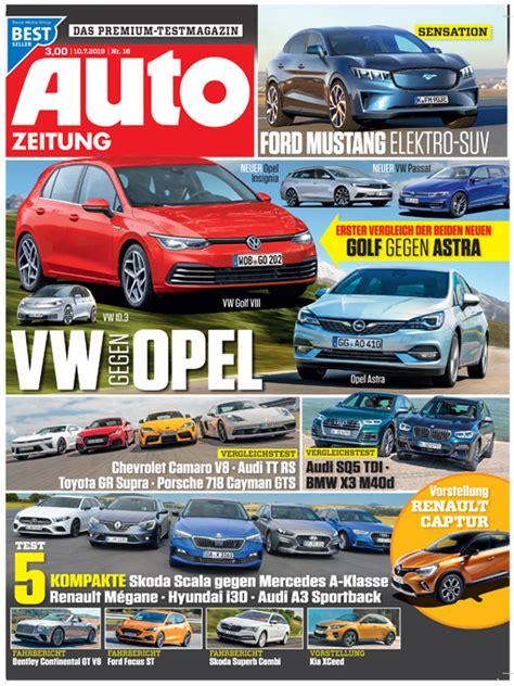 autozeitung aktuelles heft skoda octavia iv combi 2019 neue fotos autozeitung de