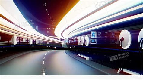 Futuristic Flying Cars With Futuristic Police In Sci Fi