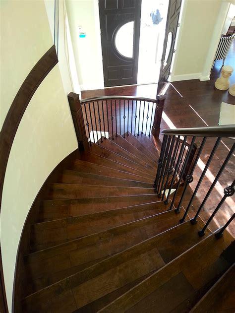 hardwood flooring stairs curved stair carpet laminate hardwood flooring vancouver bc