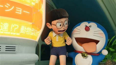 stand   doraemon  hd widescreen wallpaper
