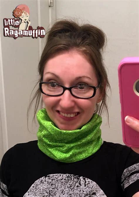 diy sew quick face mask aka buff tutorial instructions
