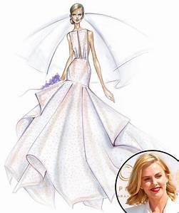 Angel Sanchez from Designer Wedding Dress Sketches for ...