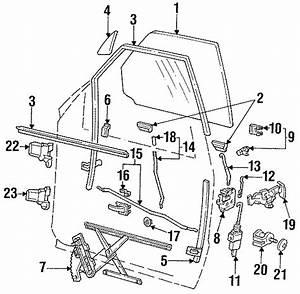 Ford Explorer Door Lock Operating Rod  4 Door  To Lock