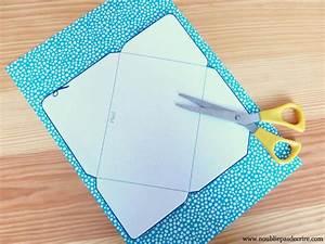 Comment Fabriquer Une Enveloppe : tuto enveloppes home made en papier motifs ou r cup ~ Melissatoandfro.com Idées de Décoration