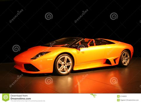 Expensive, Fancy Sports Car Stock Image