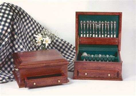 handcrafted silverware chest  dutchcrafters amish