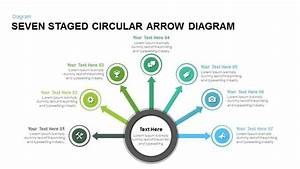 Eight Step Circular Arrow Diagram Powerpoint And Keynote