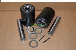 Crown Wp2000 Electric Pallet Jack Load Wheel Kit  Load Wheels  Axles  Hardware