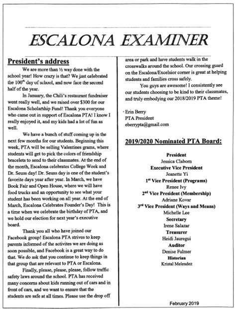 escalona elementary school