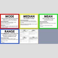 S293 Mean, Median, Mode  Lessons  Tes Teach