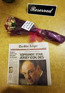 James Gandolfini, the actor who played Tony Soprano on The ...