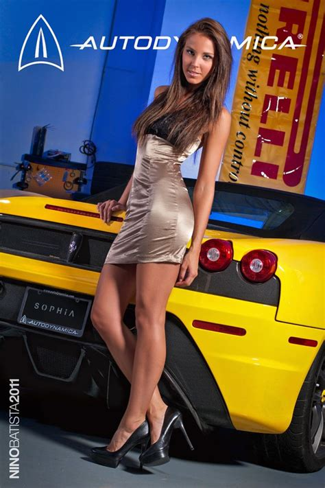 Girls Porsche Carrera GT and Sophia Michaelson ...
