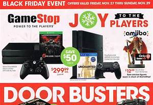 GameStops Full Black Friday Ad Leaks Hot PS4 Xbox One
