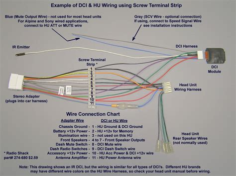 pioneer car stereo wiring harness diagram mechanic s corner pioneer car stereo car stereo