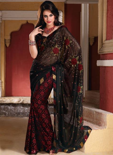 Fashion Trends Latest Saree Designs For Pakistani Women