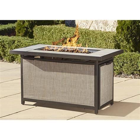 fire pit table sale walmart fire pits cosco outdoor serene ridge aluminum