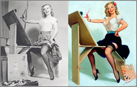 Gil Elvgren's Real Woman In A Pin Up Girl Reality