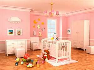 la peinture chambre bebe 70 idees sympas With deco chambre bebe fille rose