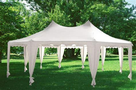 marque canap 22 x 16 heavy duty tent gazebo 4 colors