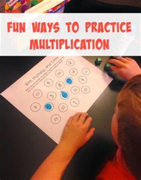 Printable Multiplication Games for Fact Fluency ...