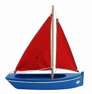 Small toy boat ~ 108 clam blue (32) - Little French Heart