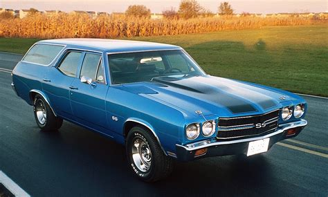 1970, 71, & 72 Chevelle Wagons